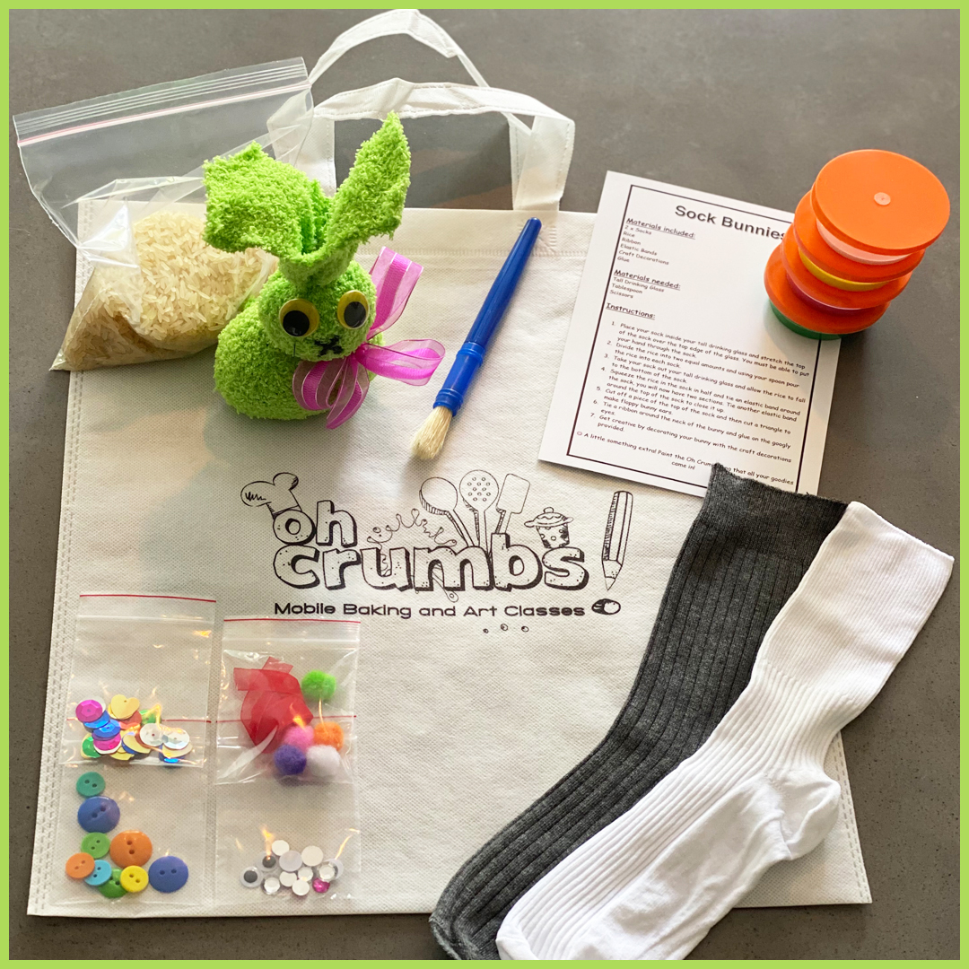 sock bunny pack